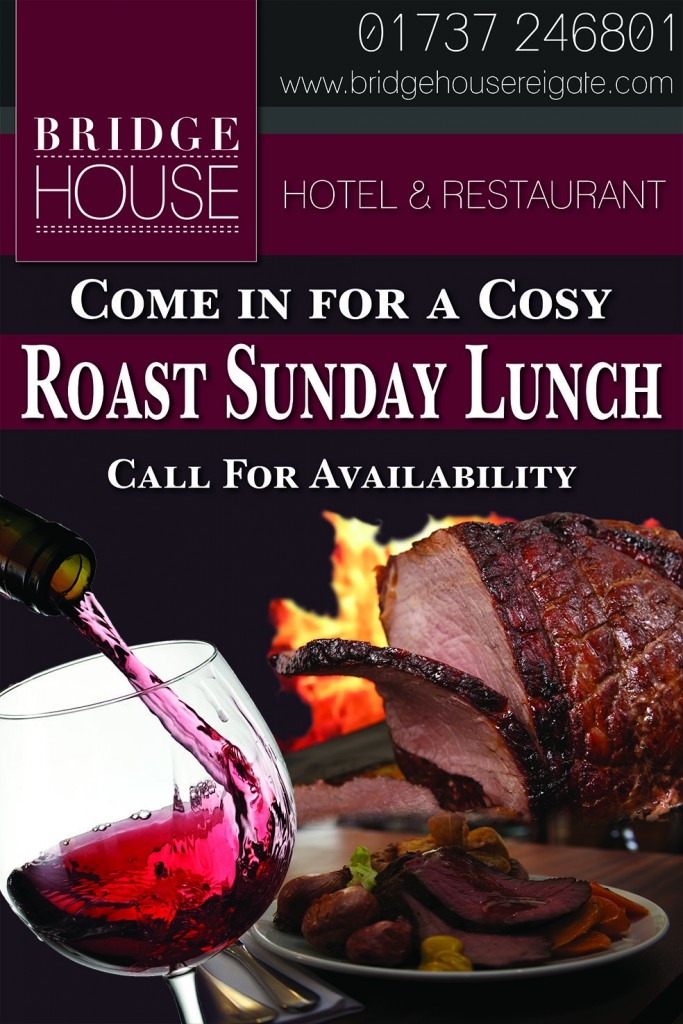Bridgehouse - Sunday Lunch Banner Artwork